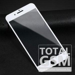 Apple iPhone 6 / 6S Fehér Képernyővédő (Üvegfólia)