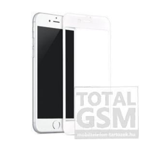 Apple iPhone 7 / 8 Fehér Képernyővédő (Üvegfólia)