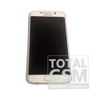 Samsung G925F Galaxy S6 Edge 32GB Fehér Mobiltelefon