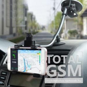 XQD-L3 Tapadókorongos Autós Telefon / Tablet Tartó Fekete