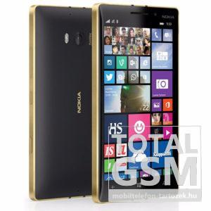 Nokia Lumia 930 Fekete-Arany Mobiltelefon