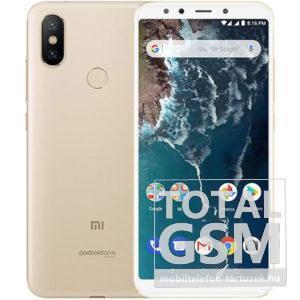 Xiaomi Mi A2 Dual Sim 3GB RAM (32GB) Arany mobiltelefon