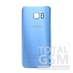 SamsungG935 Galaxy S7 Edge Kék Gyári Akkufedél Hátlap Bontott