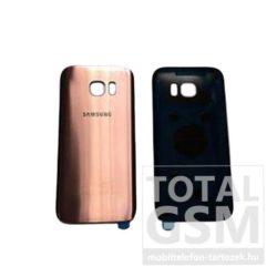 SamsungG935 Galaxy S7 Edge Rose Gold Gyári Akkufedél Hátlap Bontott