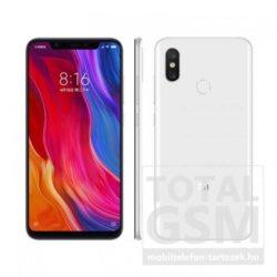 Xiaomi Mi 8 Dual Sim 128GB Fehér Mobiltelefon