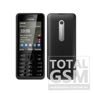 Nokia 301 Fekete Mobiltelefon