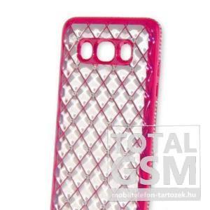 Samsung A510 Galaxy A5 (2016) Pink Köves Szilikon Tok
