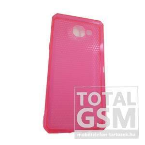 Samsung A510 Galaxy A5 (2016) Pink Kis Kockás Szilikon Tok