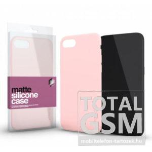 Samsung A510 Galaxy A5 (2016) Matt Pink Szilikon Tok
