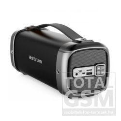 Astrum SM360 2.1 csatornás bluetooth hangszóró FM rádióval 13W fekete színű