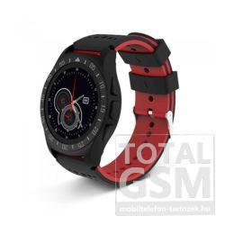 Astrum SW300 vízálló okosóra fekete-piros