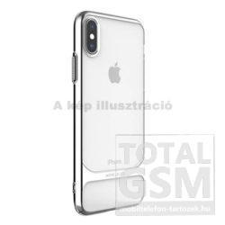 Apple iPhone X / XS Ezüst Ceramic Műanyag Hátlapi Tok
