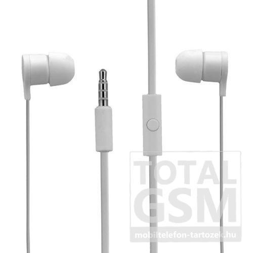 HTC RC E295 3,5mm gyári sztereo headset fehér