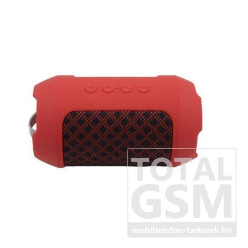 Maxton MX116 bluetooth hangszóró FM rádióval, micro SD olvasóval, AUX, 3W piros