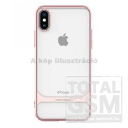 Apple iPhone X / XS Pink Ceramic Műanyag Hátlapi Tok