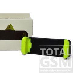 Univerzális A014 Fekete-Zöld Szellőzőrácsra Rögzíthető Autós Tartó