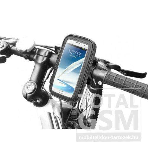 Kerékpáros telefontartó L méretben