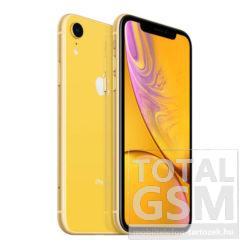 Apple iPhone XR 128GB Sárga / Yellow Mobiltelefon