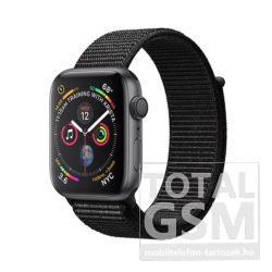 Apple Watch S4 44mm Asztroszürke alumíniumtok fekete sportpánttal MU6E2FD/A