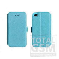 Huawei Y6 (2018) Kék Book Pocket Notesz Flip Tok