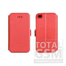 Huawei Y6 (2018) Piros Book Pocket Notesz Flip Tok