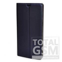Huawei P20 Pro Sötétkék Oldalra Nyíló Mágneses Notesz Flip Tok