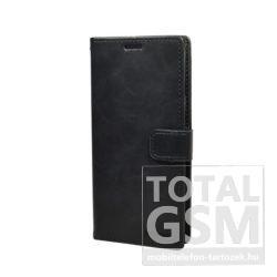 Samsung G960 Galaxy S9 Fekete Mercury Blue Moon Notesz Flip Tok