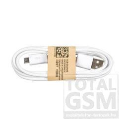 Samsung Micro USB Adatkábel Gyári Fehér (ECB-DU4AWE)