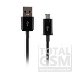 Samsung Micro USB Adatkábel Gyári Fekete 1,5m (ECB-DU4EBE)