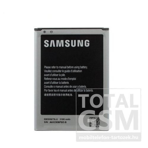 Samsung N7100 Galaxy Note 2 Gyári Akkumulátor 3100mAh (EB595675LU)