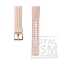 Samsung Watch 42mm Rózsaszín Szilikon Óraszíj