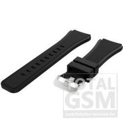 Samsung Watch 46mm Fekete Szilikon Óraszíj