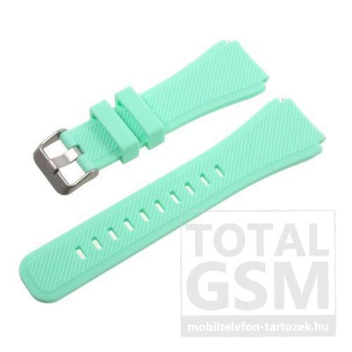 Samsung Watch 46mm Türkiz Szilikon Óraszíj