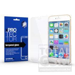 Apple iPhone 7 Plus / 8 Plus Silicone 3D White Képernyővédő Fólia Üveg 0.3MM XPRO