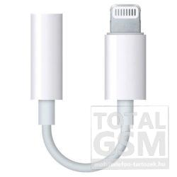 Apple iPhone 7 / 7 Plus Lightning 3,5 Jack Headset Átalakító