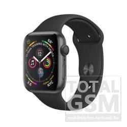 Apple Watch S4 44mm Asztroszürke alumíniumtok fekete sportszíjjal MU6D2FD/A
