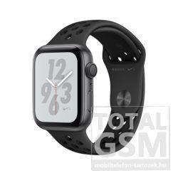 Apple Watch S4 44mm Asztroszürke alumíniumtok antracit-fekete Nike sportszíjjal MU6L2FD/A