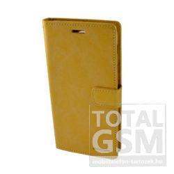 Huawei P9 Lite Arany Mercury Blue Moon Csatos Notesz Flip Tok