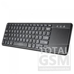 Astrum KW280 Bluetooth 3.0 ultravékony billentyűzet touchpaddal fekete