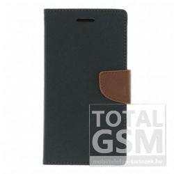 Sony Xperia Z4 Fekete-Barna Mercury Fancy Diary Notesz Flip Tok