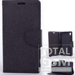 Huawei Honor 9 Lite Fekete Notesz Flip Tok Szilikon Belsővel
