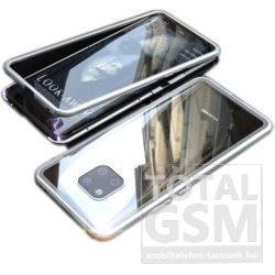 Huawei Mate 20 Ezüst Aluminium Keretes Mágneses Plexi Tok