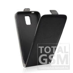 Huawei Mate 9 Lite Slim Fekete Kinyitós Flip Tok