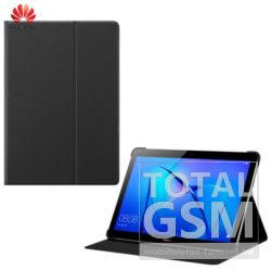 Huawei T3 10.0 Fekete Notesz Tablet Flip Tok