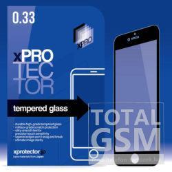 Samsung G955 Galaxy S8 Plus Képernyővédő Fólia Üveg Full 3D Fekete XPRO
