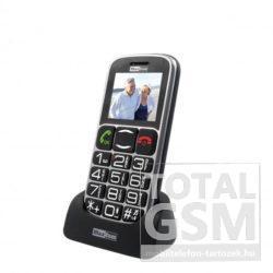 Maxcom MM461BB Fekete-Ezüst Mobiltelefon