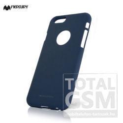 Huawei P Smart (2019) Sötétkék Mercury Soft Feeling Szilikon Tok