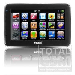 """Wayteq X880 4.3"""" GPS Navigáció Fekete"""