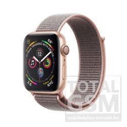 Apple Watch Series 4 40mm Aranyszínű alumíniumtok rózsakvarcszínű sportpánttal MU692FD/A