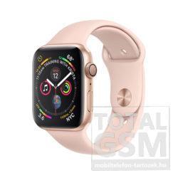 Apple Watch Series 4 40mm Aranyszínű alumíniumtok rózsakvarcszínű sportszíjjal MU682FD/A